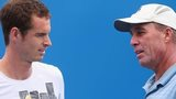 Andy Murray (left) and Ivan Lendl