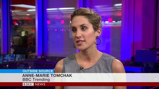 Anne-Marie Tomchak on BBC Outside Source
