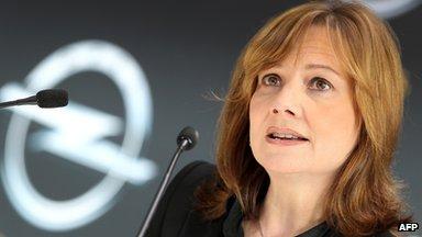 GM chief executive Mary Barra