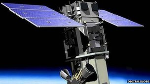 Digital Globe's WorldView-2 satellite