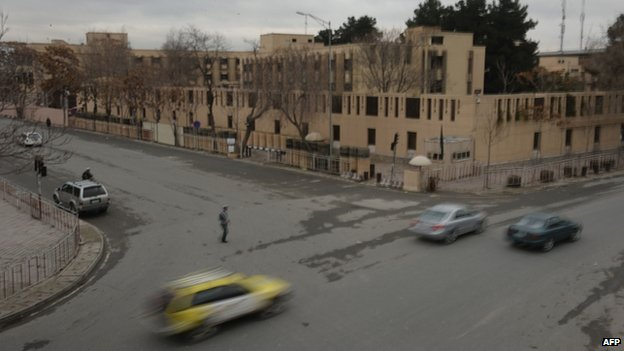 Serena hotel in Kabul (21 March 2014)