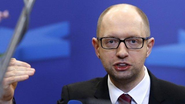 Ukraine's Interim Prime Minister Arseniy Yatsenyuk