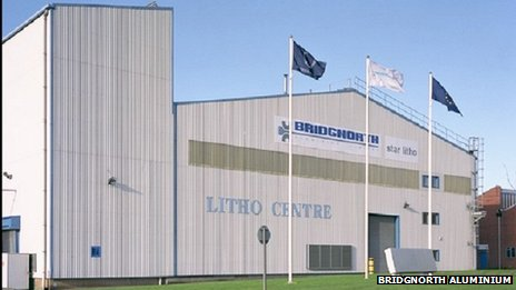Bridgnorth Aluminium factory