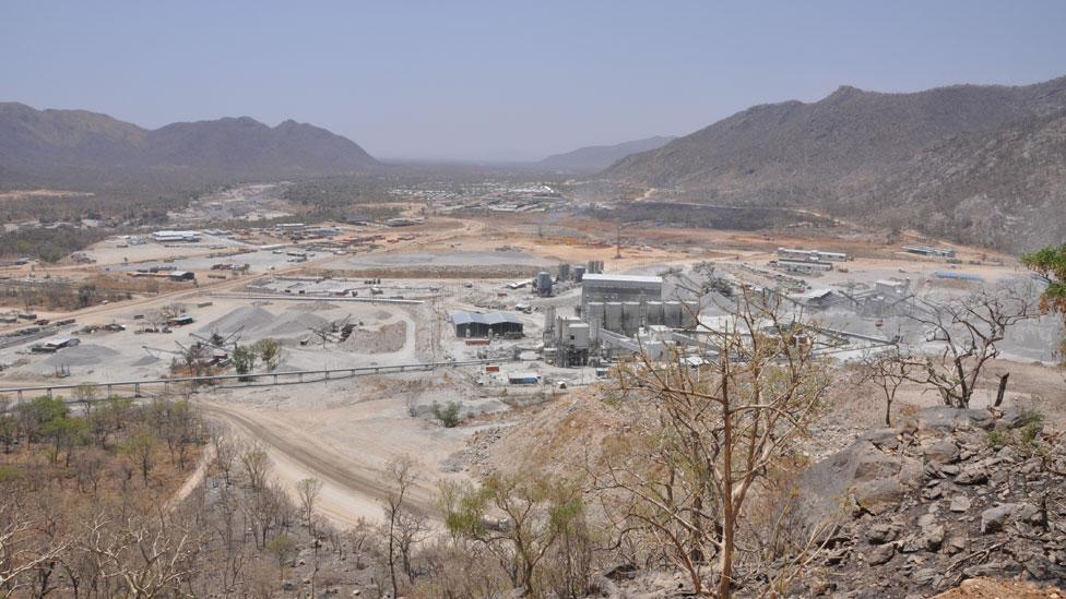View of the grand Renaissance dam