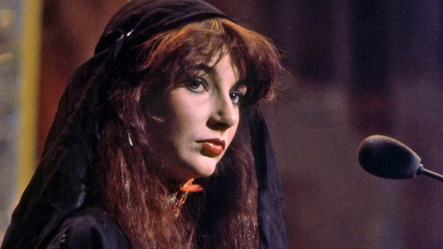 Kate Bush performs Wuthering Heights on Top of the Pops