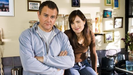 Hugh Bonneville and Elizabeth McGovern in Freezing