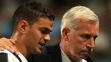 Hatem Ben Arfa and Alan Pardew