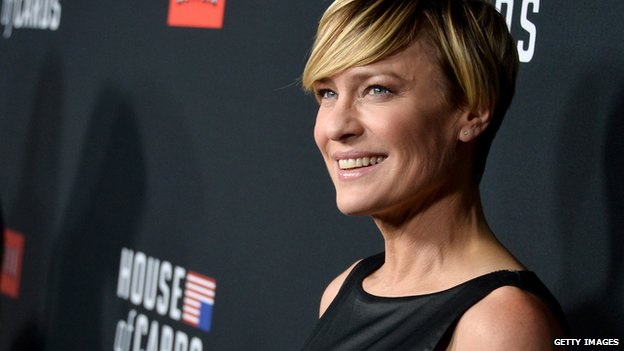 Robin Wright, who plays Claire Underwood in House of Cards