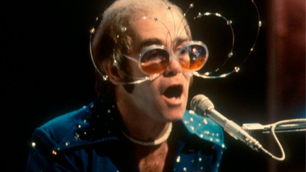 Elton John in 1974