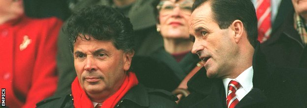 David Dein with George Graham