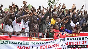 January 2014 demonstration in Burkina Faso