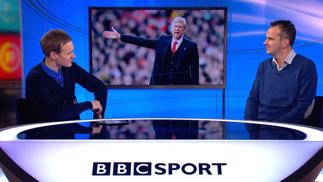Dan Walker and Dietmar Hartmann talk about Arsene Wenger on Football Focus