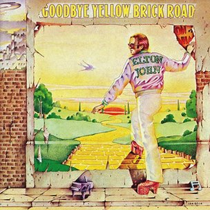 Album cover for Goodbye Yellow Brick Road