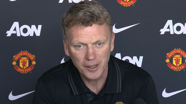David Moyes admits he has been 'ashamed' of Man Utd's form