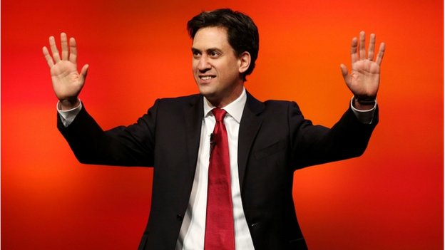 Ed Miliband was in Scotland to address the Scottish Labour conference