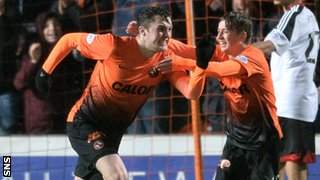 John Souttar (left) and Ryan Gauld are two of Dundee United's brightest talents.