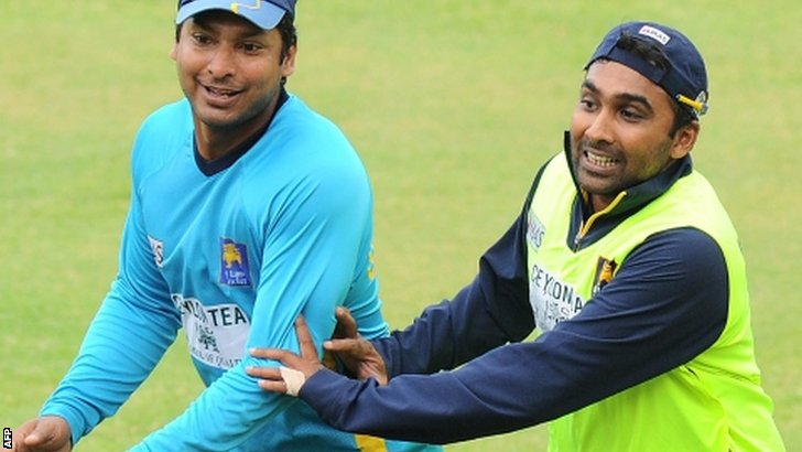 Sangakkara and Jayawardene