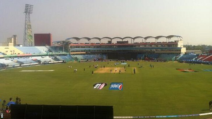 View from the Test Match Special commentary box
