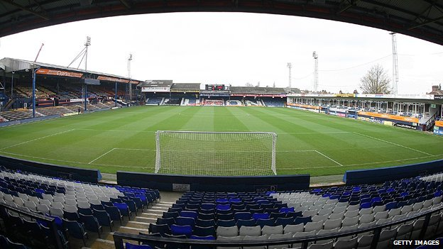 General view of Kenilworth Road stadium
