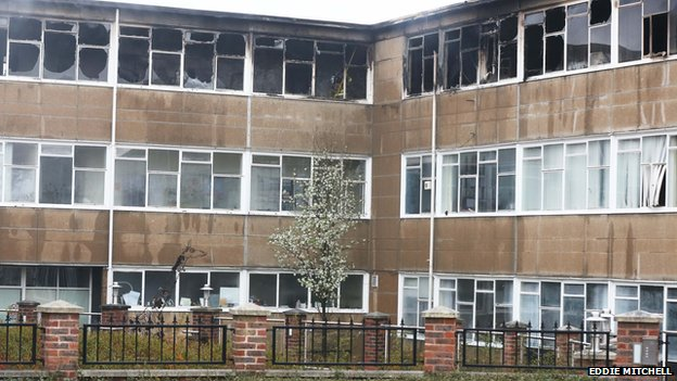 Millais School fire