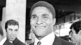 Eusebio scored four goals for Portugal against North Korea