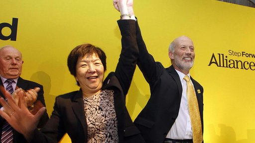 Anna Lo and David Ford