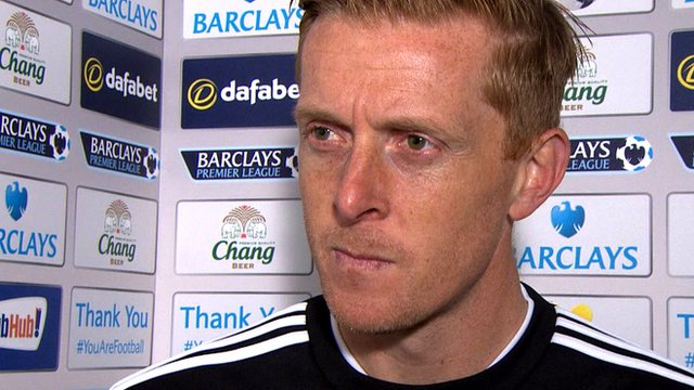 "Everton 3-2 Swansea: Garry Monk says ""time is running out"" for Swansea"