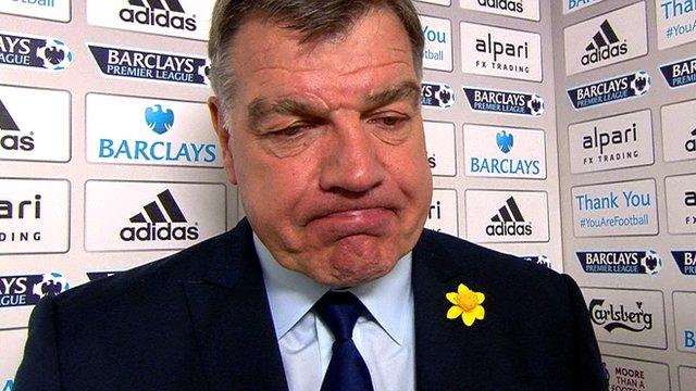 West Ham 0-2 Man Utd: Sam Allardyce says Hammers 'deservedly' beaten