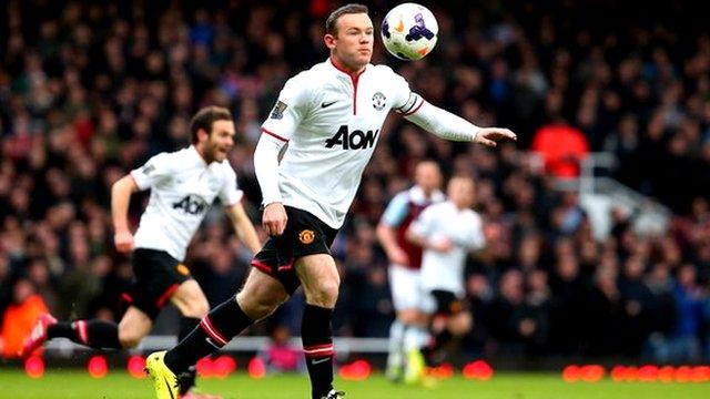 West Ham 0-2 Man Utd: Modest Rooney describes stunning lob