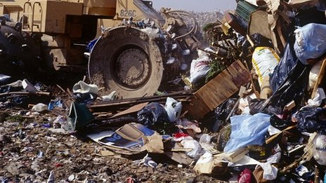 Landfill site (stock image)