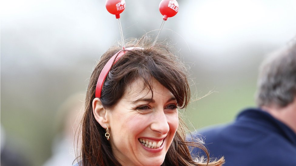 Samantha Cameron at Sport Relief