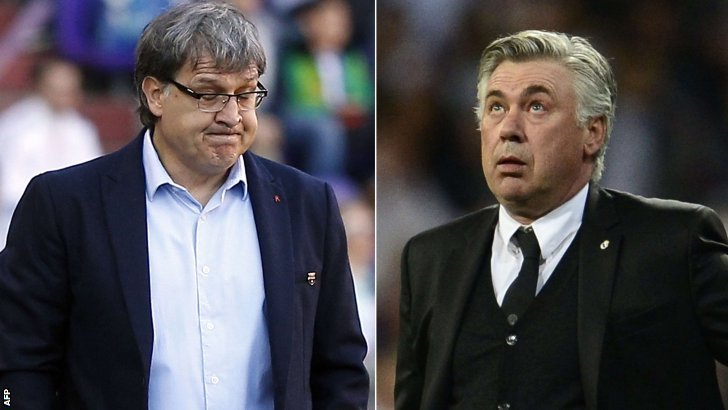 Gerardo Martino and Carlo Ancelotti
