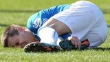 Ian Black was carried off in Rangers 2-1 win over Brechin City