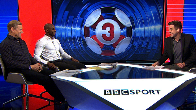 Mark Chapman, Peter Schmeichel and Jason Roberts discuss Andre Marriner's error