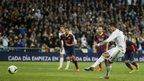 Cristiano Ronaldo scores a penalty