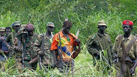 LRA fighters (31 July 2006)