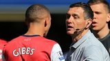 Kieran Gibbs and Andre Marriner