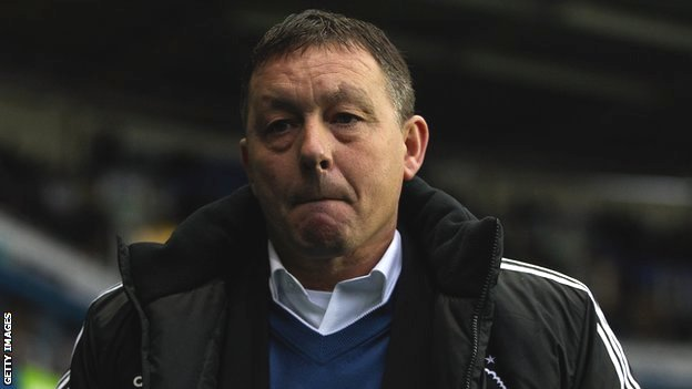Nottingham Forest manager Billy Davies