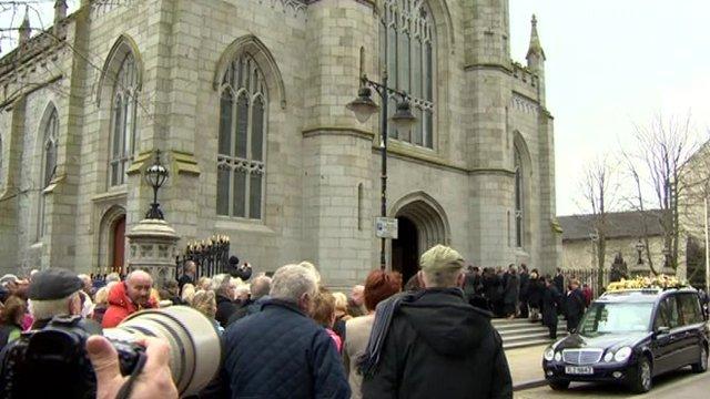 Edward Haughey funeral