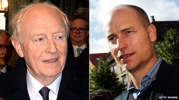 Neil Kinnock and Stephen Kinnock