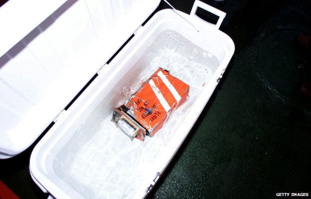 The First 'Black Box' From Downed Alaska Airlines Flight #261 - 2000