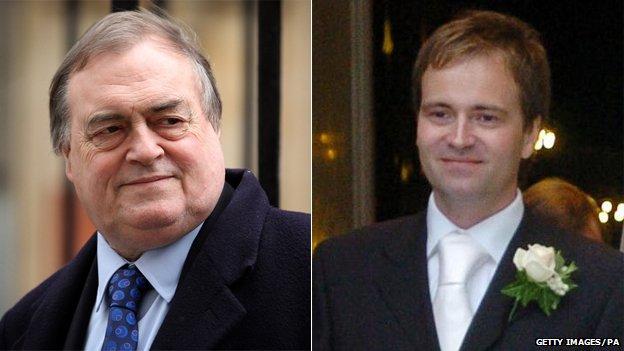 John Prescott and David Prescott