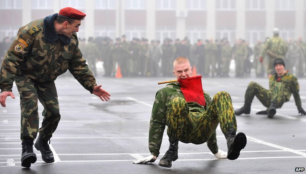 Belarus special forces in competitions to mark Defence of the Fatherland Day (23 February)