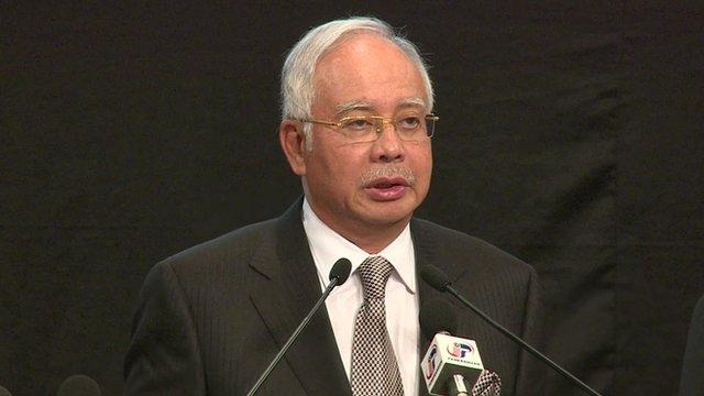Malaysian Prime Minister Najib Razak