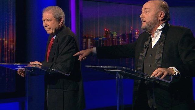 Jim Sillars and George Galloway
