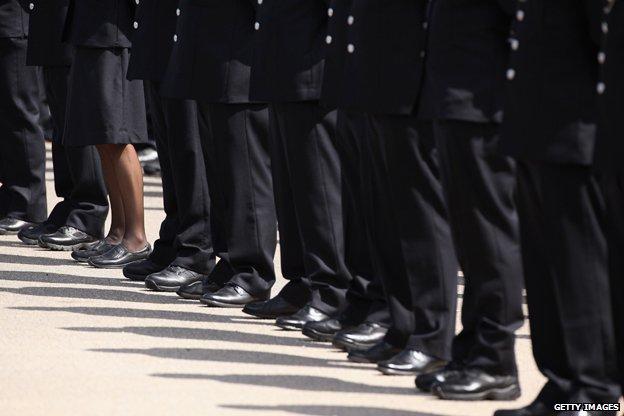 Police graduates