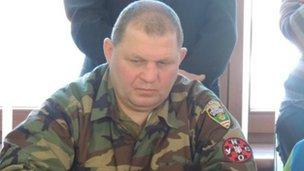 Oleksandr Muzychko, alias Sashko Bily, file pic