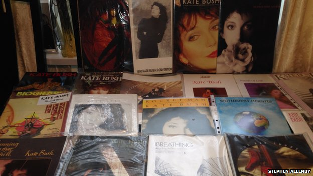 Kate Bush 1979 tour concert memorabilia