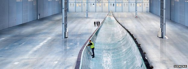 Wind turbine blade mould