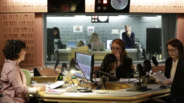 School Reporters on Woman's Hour